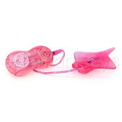 Strap-on vibrator - Jenna's devilish fantasies vibrator (Pink)