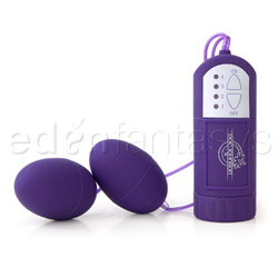Bullet Vibrator - Vivid twin peaks Lacey's pink bullets (Purple)