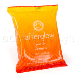 Adult Wipe - Afterglow toy and body wipes (20)Adult Wipe - Afterglow toy and body wipes (20)