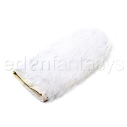 Massage glove - Rabbit fur mitt
