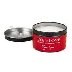 Pheromone massage candle for women (One love)