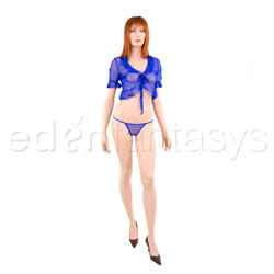 Bed jacket - Sapphire mini jacket (L)