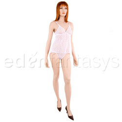 Camisole set - Stretchlace mesh cami set (XL)