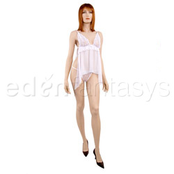 Babydoll And Panty Set - Embrace babydoll with g-string (S)