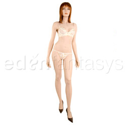 Bra And Panty Set - Iridescence bra and thong (M)