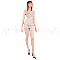 Bra And Panty Set - Pastel underwire bra and flirt panty (XL)