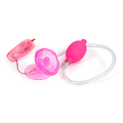 Clitoral pump - Naughty kisser hands free vibrating clitoral pump