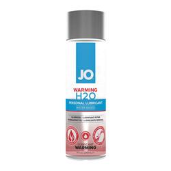 Lubricant - JO H2O warming lubricant (8 fl.oz.)