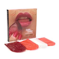Edible treats - Edible undies female (Strawberry / Chocolate)