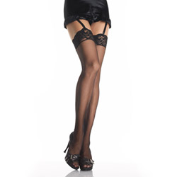 Thigh highs - Lace top thigh high