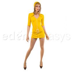 Costume - Yellow soda pop girl costume (S)