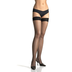 Thigh highs - Industrial net thigh highs