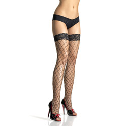 Sexy stocking - Lace top fence net stockings