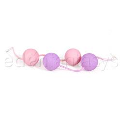 Vaginal ball - The ben wa balls (Purple)