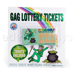 Gags - Gag lottery tickets