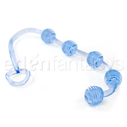 Anal Bead - Ringed body beads (Blue)