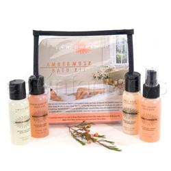 Sensual bath - Aromatherapy bath (Amber musk)