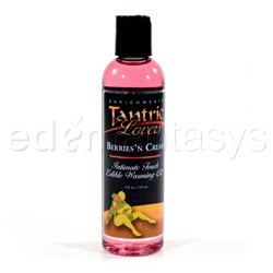 Sex oil - Tantric lovers edible warming oil (Pink champagne)