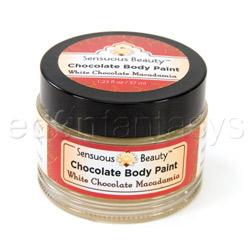 Body Paint - Sensuous chocolate body paint (White chocolate macadamia)