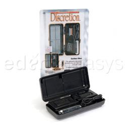 Bullet Vibrator - Compact discretion-crbn fiber