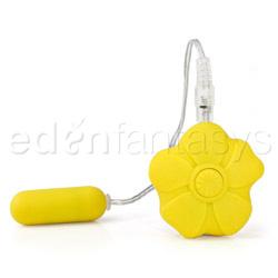 Bullet Vibrator - Power bud bullet (Yellow)