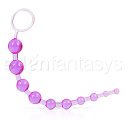 Anal Bead - X - 10 beads (Purple)