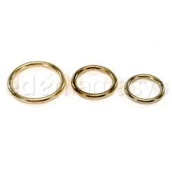 Multipurpose Ring - 3 piece ring set (Gold)