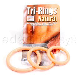 Multipurpose Ring - Tri-rings (White)