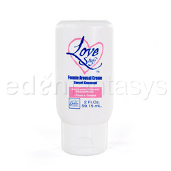 Cream - Love stuff femme arousal creme (sweet coconut)