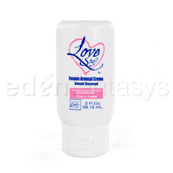 Cream - Love stuff femme arousal creme (very vanilla)