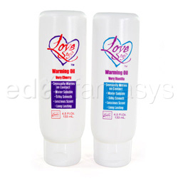 Love stuff warming massage oil (very vanilla) - Oil