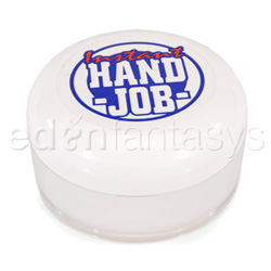 Lubricant - Instant hand job