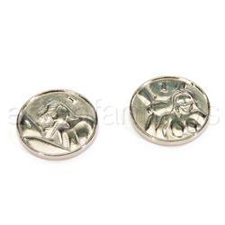 Gags - Heads Or Tails Silver Coins Picture