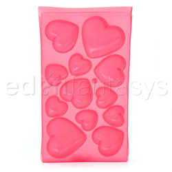 Gags - Heart shaped ice cubes tray