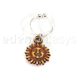Belly button ring - Erotic sun