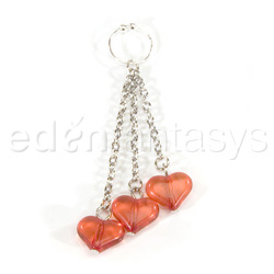Belly button ring - Asian hearts navel ringBelly button ring - Asian hearts navel ring