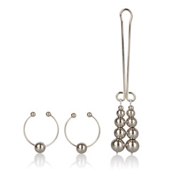 Nipple jewelry - Intimate play nipple and clit jewelry