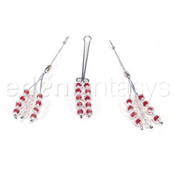 Nipple Jewelry - Nipple and Clitoral Non-Piercing Body Jewelry Ruby