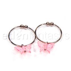 Nipple Jewelry - Houston's nipple ring pink