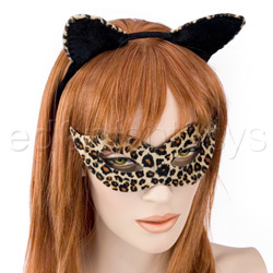 Costume - Kitty Kat mask and ears