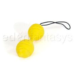 Vaginal ball - Royal balls (Yellow)