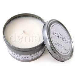 Candle - A scent of scandal (Fig Leaf / Original sin)