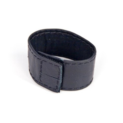 Penis ring - Leather cock ring with velcro closure