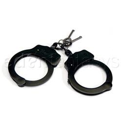 Handcuffs - Dual lock handcuffs