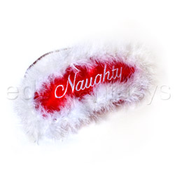 Bondage mask - Reversible naughty or nice mask