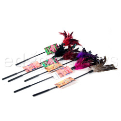 Tickler - Starburst fantasy feather (Violet)