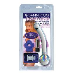 Glass G-Spot Shaft - Danni's e-glass g-spot lover