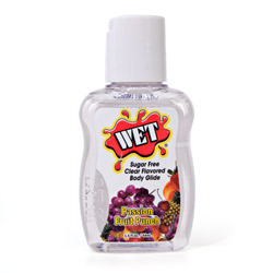 Lubricant - Wet sugar free (Passion fruit)