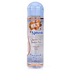 Lubricant - Wet naturals beautifully bare (3 fl.oz.)
