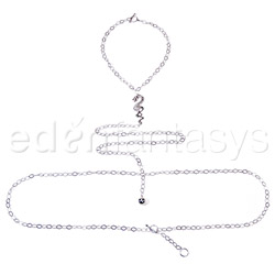 Body jewelry - Silver dragon body chain